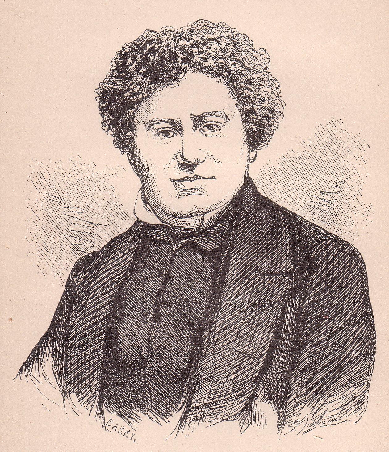 dumas Автопортрет набросанный в 1868 г в альбоме своей подруги поэтессы амели эрнст.